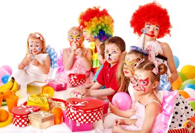 Foto hoera een kinderfeestje
